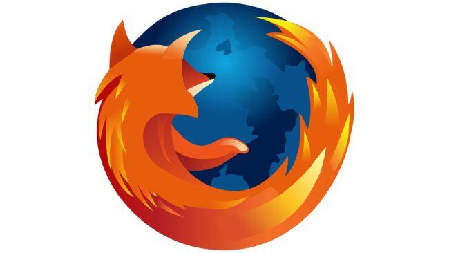 Mozilla Firefox Logotipo 2004-2005