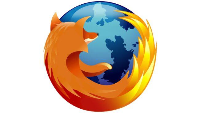 Mozilla Firefox Logotipo 2005-2009