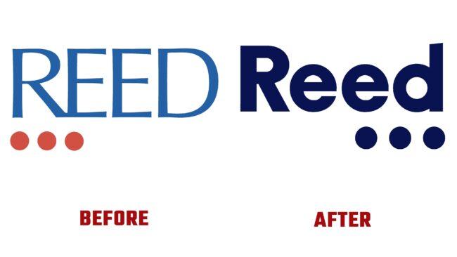 The Reed Group Antes y Después del Logotipo (historia)