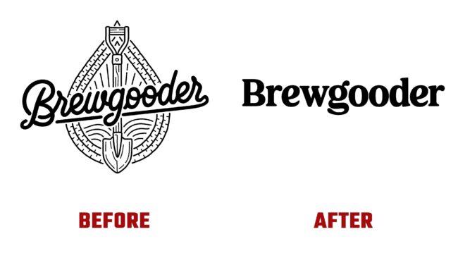 Brewgooder Antes y Despues del Logotipo (historia)