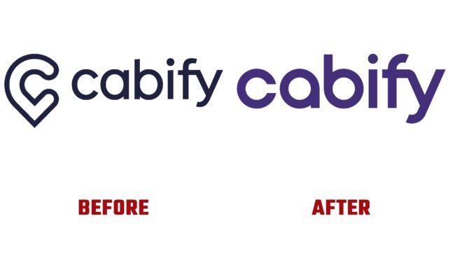 Cabify Antes y Después del Logotipo (historia)