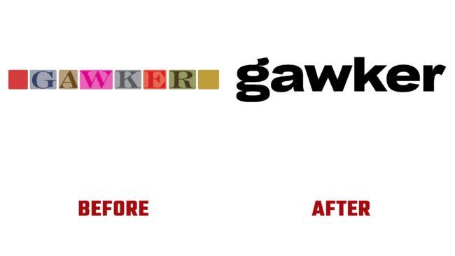 Gawker Antes y Despues del Logotipo (historia)