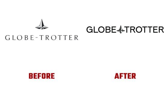 Globe Trotter Antes y Despues del Logotipo (historia)