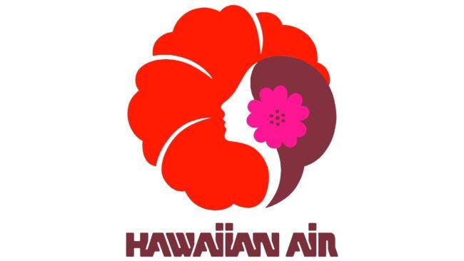 Hawaiian Air Logotipo 1973-1990