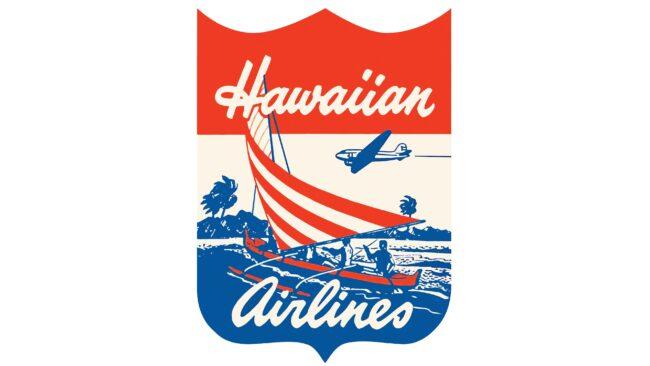 Hawaiian Airlines Logotipo 1940-1950