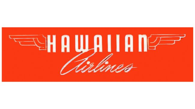 Hawaiian Airlines Logotipo 1950-1953