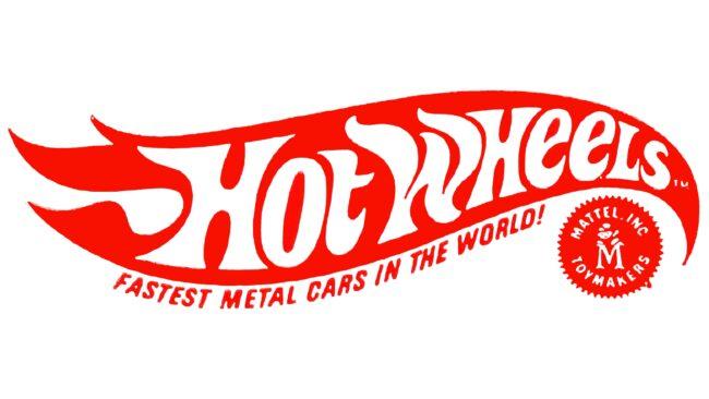 Hot Wheels Logotipo 1969-1970