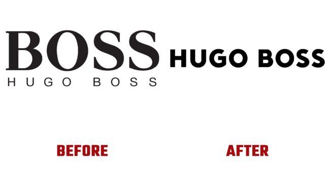 Hugo Boss Antes y Despues del Logotipo (historia)