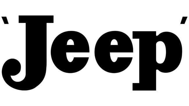 Jeep Logotipo 1945-1963