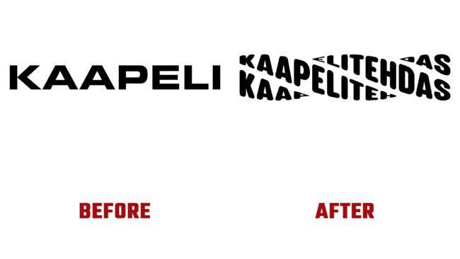 Kaapelitehdas Antes y Despues del Logotipo (historia)