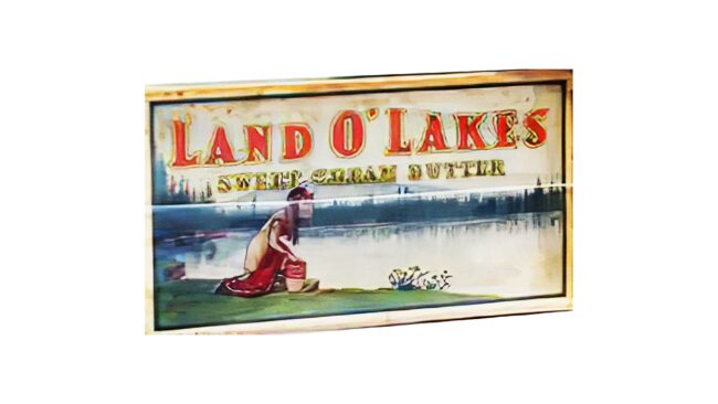 Land O'Lakes Logotipo 1925-1949
