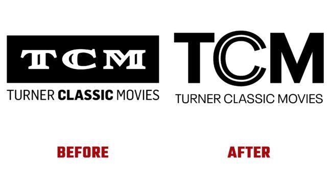 Turner Classic Media Antes y Despues del Logotipo (historia)