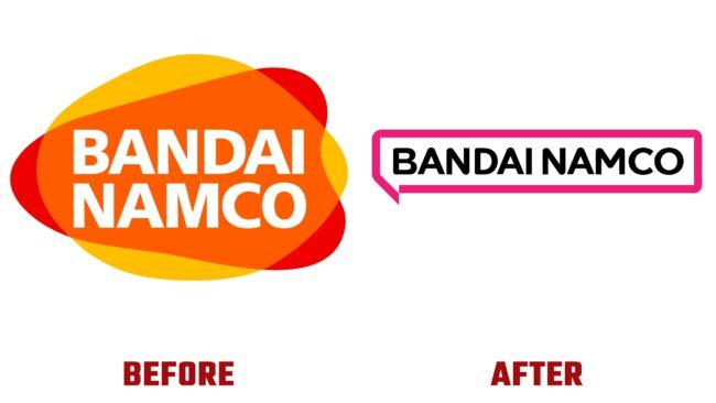 Bandai Namco Antes y Despues del Logotipo (historia)