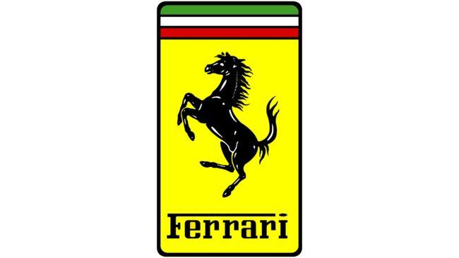 Ferrari (Scuderia) Logotipo 1983-1996