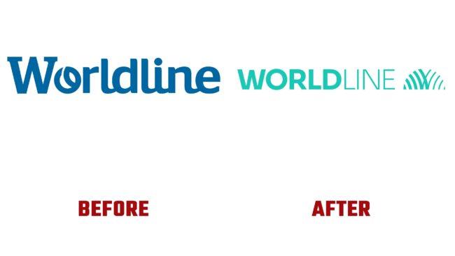 Worldline Antes y Despues del Logotipo (historia)